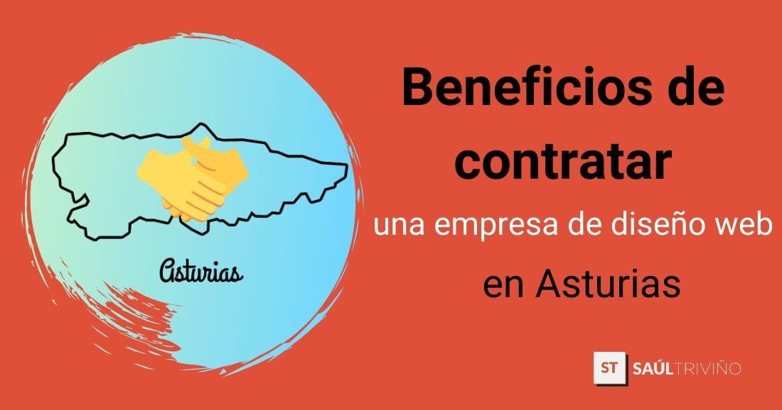 beneficios contratar empresa diseno web asturias