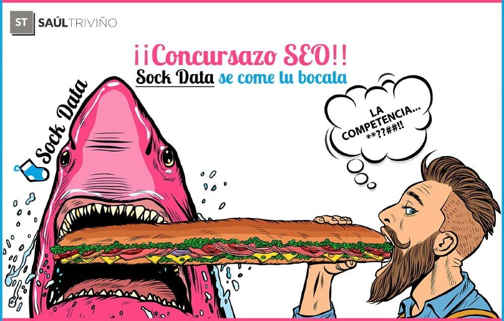 Concurso SEO Sock Data se come tu bocata en Zaragoza